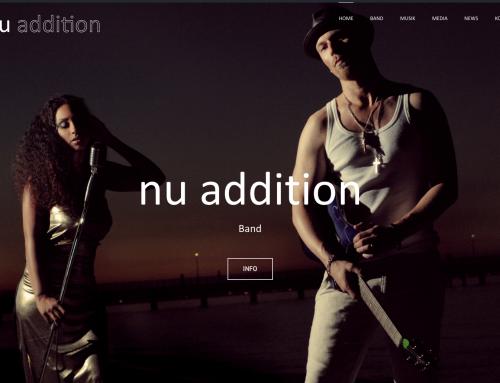 Endlich: Die nu addition Website ist da!
