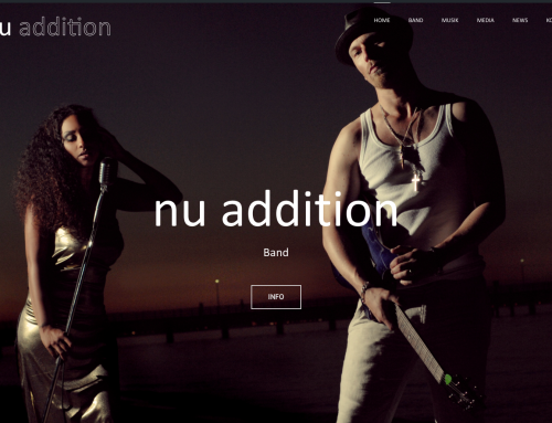 Endlich: Die nu addition Website ist da!